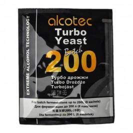 Спиртові Турбо Дріжджі Alcotec Batch 200 Turbo (86 г)